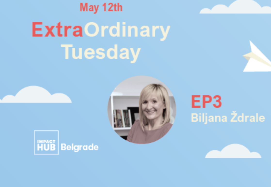 EXTRAORDINARY TUESDAY -EPIZODA 3 | BILJANA ŽDRALE